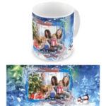 """Чашка на Новый год """"Новогодний лес"""""""