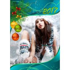 """Новогодний вертикальный пазл """"Winter style"""""""