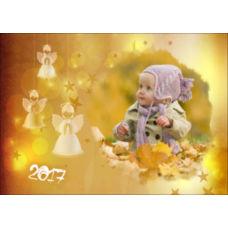 """Новогодний горизонтальный пазл """"Ангел"""""""