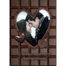 """Вертикальный пазл на день влюбленных """"Шоколад"""""""