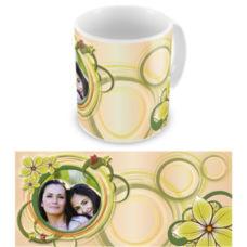 """Чашка на 8 марта """"Тепло семьи"""""""