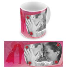"Чашка на День влюбленных ""Чистая романтика"""