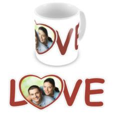 """Чашка на День влюбленных """"Love"""""""