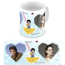 """Чашка на День влюбленных """"Любовь это дарить ему подарки"""""""