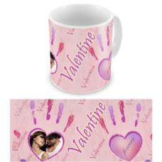 """Чашка на День влюбленных """"Отпечаток любви"""""""