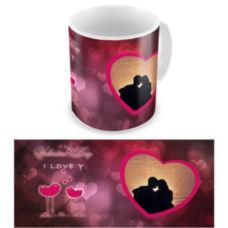 """Чашка на День влюбленных """"Pink day"""""""