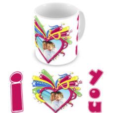"""Чашка на День влюбленных """"Звездная любовь"""""""