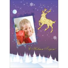"""Новогодний вертикальный пазл """"Christmas deer"""""""