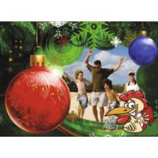 """Новогодний горизонтальный пазл """"Рождественский вечер"""""""