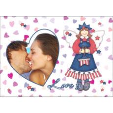 """Горизонтальный пазл на день влюбленных """"Love is love"""""""