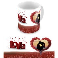 """Чашка на День влюбленных """"Дерево любви"""""""