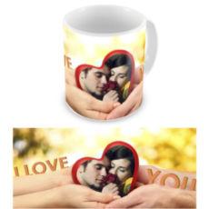 """Чашка на День влюбленных """"Крепкая любовь"""""""