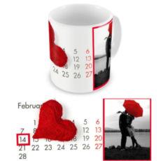 """Чашка на День влюбленных """"Праздничная"""""""