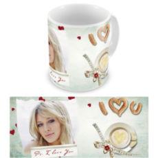 """Чашка на День влюбленных """"Аромат кофе"""""""