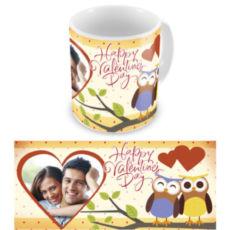 """Чашка на День влюбленных """"Влюбленные совушки"""""""