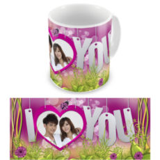 """Чашка на День влюбленных """"Я люблю тебя навсегда"""""""