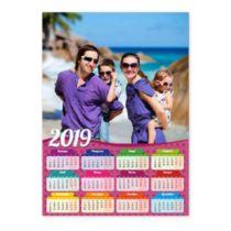 Рожевий. Календар-постер