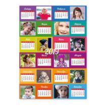 Шахи. Різнокольоровий. Календар-постер