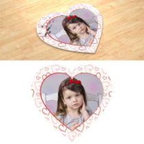 Дитячий малюнок. Фотопазл в формі серця.