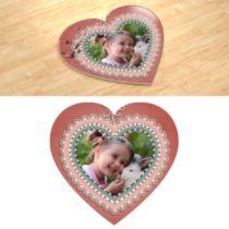 Аплікація. Фотопазл в формі серця.