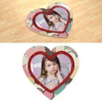 Handmade. Фотопазл в формі серця.