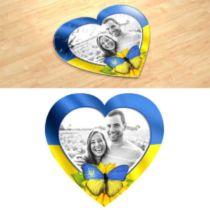 """""""Серце патріота"""". Фотопазл в формі серця."""