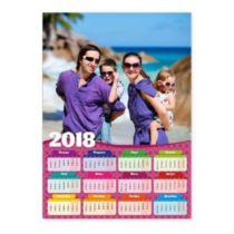 Розовый. Календарь-постер