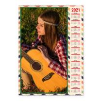 Модерн. Календар-постер