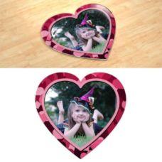 Валентинка. Фотопазл в форме сердца.