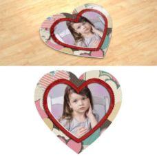 Handmade. Фотопазл в форме серца.