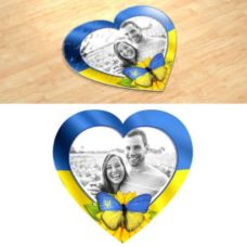 Сердце Патриота. Фотопазл в форме серца.