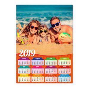 Оранжевый. Календарь-постер
