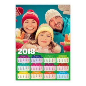 Зелёный. Календарь-постер